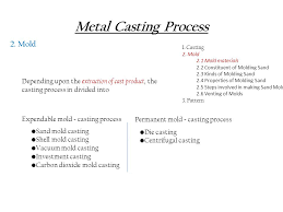 pattern making in metal casting production process i ppt video online download