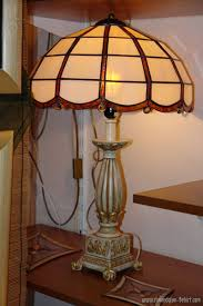 lamps stained glass bel art