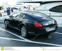 black bentley black bentley coupe parked in puerto banus editorial stock photo