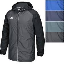 adidas men s modern varsity woven jacket lightweight hooded