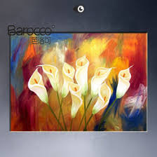 discount abstract color flower paintings 2017 abstract color