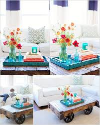 10 creative diy coffee table centerpiece ideas