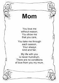 christmas poems that rhyme for mom u2013 happy holidays