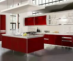 Stainless Steel Kitchen Sink Cabinet by Kitchen Kitchen Design Stylish Kitchen Cabinet Design With Red