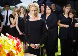 appropriate clothes for a traditional funeral