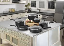 amazon com cuisinart 55 11bk advantage nonstick 11 piece cookware