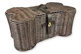 baskets for home decor amazon com dii bone dry large wicker like bone shape storage