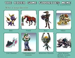 Video Game Meme - video game meme by darkodraco on deviantart