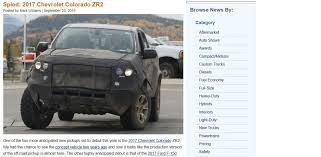 trail ready 2017 chevrolet colorado zr2 variant spotted in the usa