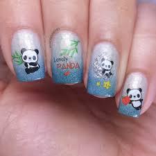 born pretty store cute panda decals manicured u0026 marvelous