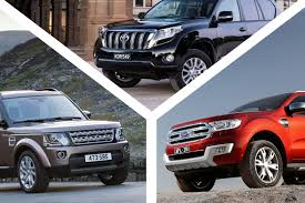 toyota land rover 2017 2016 toyota landcruiser prado vs land rover discovery vs ford
