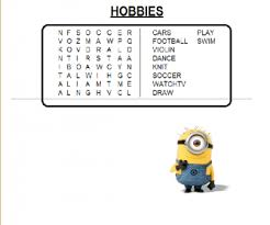 all worksheets hobbies worksheets printable worksheets guide