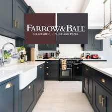 how to paint cabinets with farrow and introducing colours in the kitchen from farrow