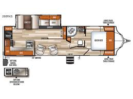 Conversion Van Floor Plans Vibe Travel Trailer Rv Sales 7 Floorplans