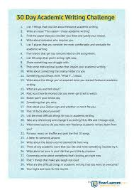 The Challenge How To Do It 30 Day Writing Challenge For Academic Writers