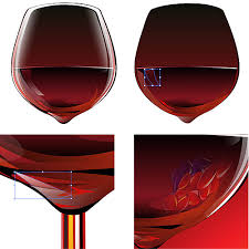 tutorial illustrator glass how to draw wine glass in vectors my traditional digital art a