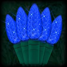 led blue lights 35 c6 led strawberry style bulbs 4