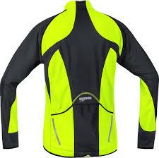 hi vis softshell cycling jacket gore bike wear phantom 2 0 windstopper soft shell jacket