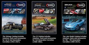 corvette america parts the c3 corvette catalog from corvette america is now available
