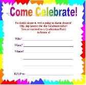 preschool graduation invitations free printable graduation invitations great free templates