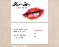 Makeup Artist Quotes For Business Cards Freelance Makeup Artist Business Card Templates Makeup Vidalondon