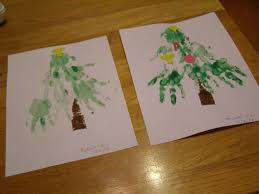 home of the blogosphere baby u0026 toddler christmas tree craft