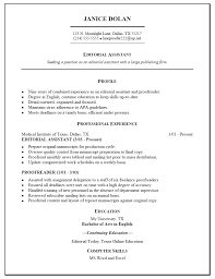 Copy Of A Professional Resume Free Resume Templates Sample Job Examples Of Format For With 87