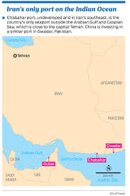 Dubai India Map by India Port Deals Puts Iran One Step Closer To Regional Trading Hub