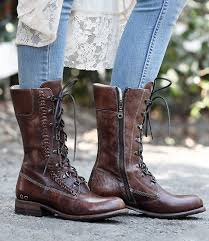 Bed Stu Tango Handmade Tall Leather Boots For Women Bed Stu