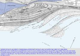 Lyme Map Lyme Regis Westward Geology By Ian West
