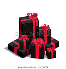 wrapped present stock images royalty free images vectors