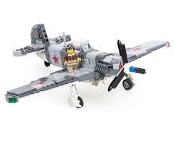 lego army jet restock yak 9 fighter brickmania blog