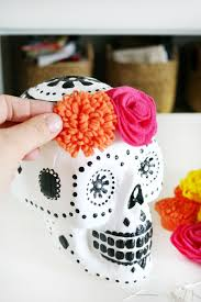 sugar skulls home decor skull halloween decor