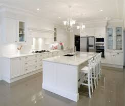 Glass Kitchen Cabinet Knobs Modern White Kitchens Creamy Ceramic Tile Floor French Country