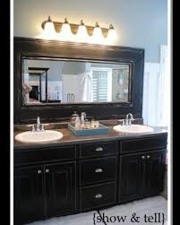 Framing Builder Grade Bathroom Mirror 49 Best Mirror Border Ideas Images On Pinterest Bathroom Ideas
