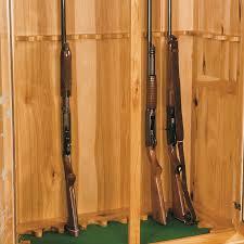 amish built gun cabinets dovetails furniture