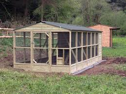 large chicken coop and run for sale with basic chicken house