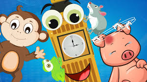 mice clipart hickory dickory dock pencil and in color mice