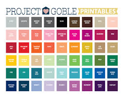 color swatches color swatches project goble printables project goble
