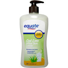 equate after sun cool lime lotion 20 fl oz walmart com