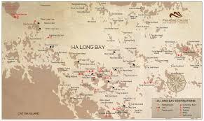 Lan Route Map by Lan Ha Bay Paradise Elegance Cruise