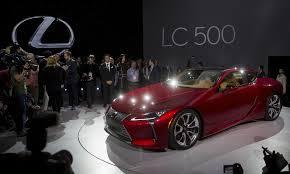 lexus lc 500 auto show lexus ventures into higher luxury tier with lc 500 coupe