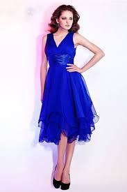black friday dresses sale 2013 prom dresses a line tea length v neck chiffon belt ruffles