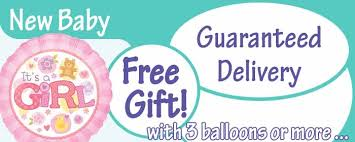 inflated helium balloons delivered new baby balloons inflated helium balloon delivery in uk