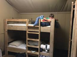 Tent Bunk Beds Safari Tent Bunk Beds We Also Had A Bed Picture Of C