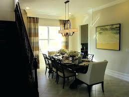standard height of light over dining room table dining room light height dining room light height exquisite on other