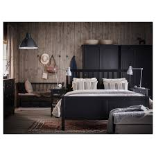 Ikea Black Queen Bedroom Set Hemnes Bed Frame Queen Ikea