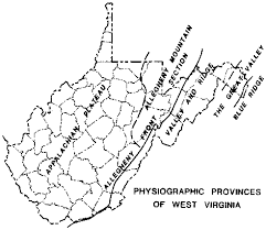West Virginia travel synonyms images Wvges geoed earth science connections fall 1997 gif