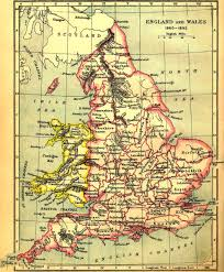 Map Of England And France by
