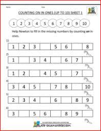 number sequence worksheets for kindergarten number sequence